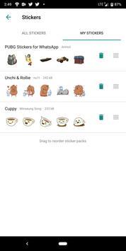 PUBG Stickers for WhatsApp screenshot 2