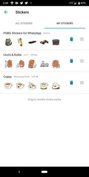 PUBG Stickers for WhatsApp captura de pantalla 2