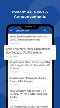STUCOR - AU Results, Circulars, MCQ, Notes etc. स्क्रीनशॉट 2