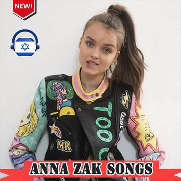 Anna Zak אנה זק 2019 songs poster