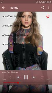 Anna Zak אנה זק 2019 songs screenshot 1