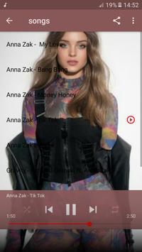 Anna Zak אנה זק 2019 songs screenshot 2
