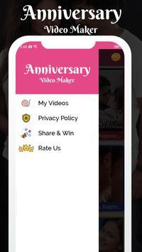 Anniversary Love Photo Effect Video Maker screenshot 3