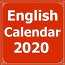 English Calendar 2020 APK Android