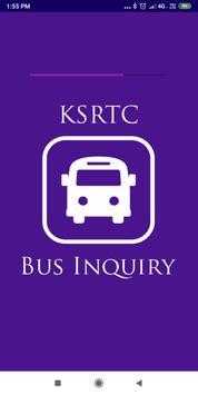KSRTC Bus Inquiry(Karnataka) poster