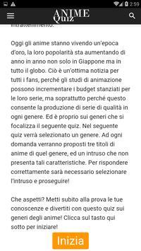 Anime Quiz Italia screenshot 1