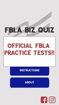 FBLA Biz Quiz poster