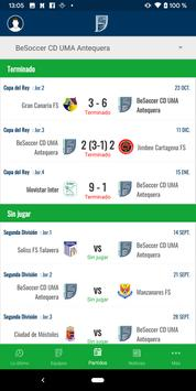 BeSoccer CD UMA Antequera screenshot 4