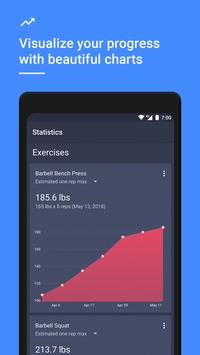 Gym Workout Tracker & Planner for Weight Lifting screenshot 5
