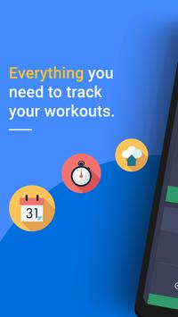 Gym Workout Tracker & Planner for Weight Lifting poster