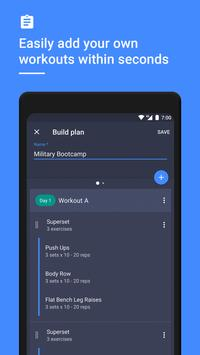 Gym Workout Tracker & Planner for Weight Lifting screenshot 2