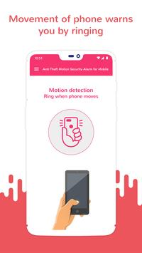 Anti Theft Motion Security Alarm for Mobile screenshot 2