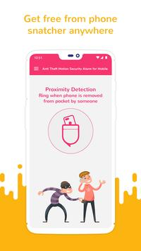 Anti Theft Motion Security Alarm for Mobile screenshot 3