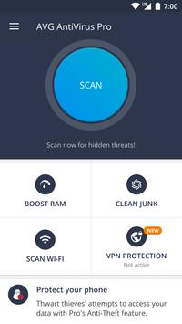 AVG AntiVirus 2019 for Android Security poster