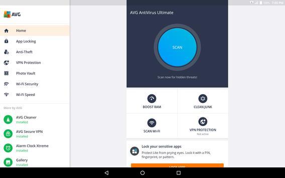 AVG AntiVirus 2019 for Android Security FREE screenshot 8