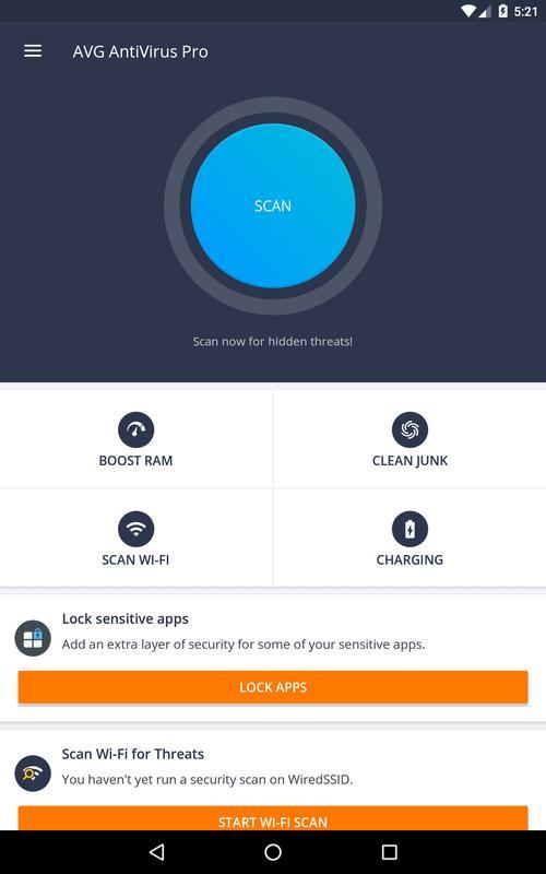 avg antivirus security pro apk free download