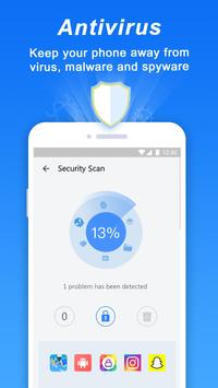 Turbo Cleaner– Antivirus, Clean and Booster imagem de tela 1