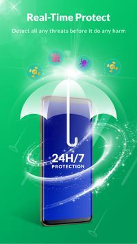फ़्री एंटीवायरस - एप्लिकेशन का ताला, स्पेस क्लीनर स्क्रीनशॉट 1
