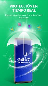 Antivirus & Eliminar Virus, Acelerador de Telefono captura de pantalla 1