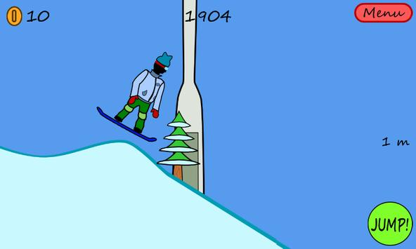 Antibored Snowboarder تصوير الشاشة 6