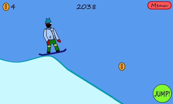 Antibored Snowboarder تصوير الشاشة 7