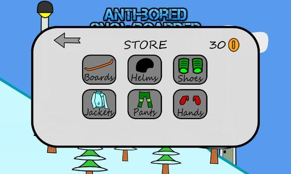 Antibored Snowboarder تصوير الشاشة 9