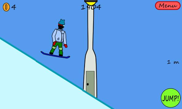 Antibored Snowboarder الملصق