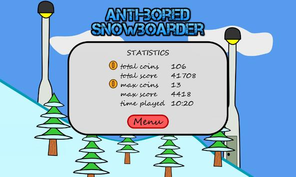 Antibored Snowboarder تصوير الشاشة 13