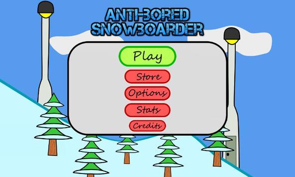 Antibored Snowboarder تصوير الشاشة 11