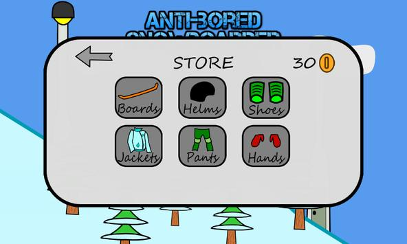Antibored Snowboarder تصوير الشاشة 1
