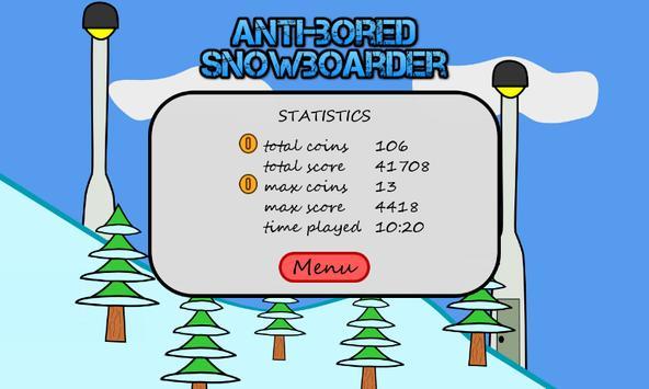 Antibored Snowboarder تصوير الشاشة 2
