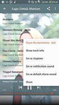 Lagu Untuk Mantan Terindah Offline screenshot 1