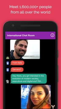 Anonymous Chat Rooms, Dating App screenshot 1