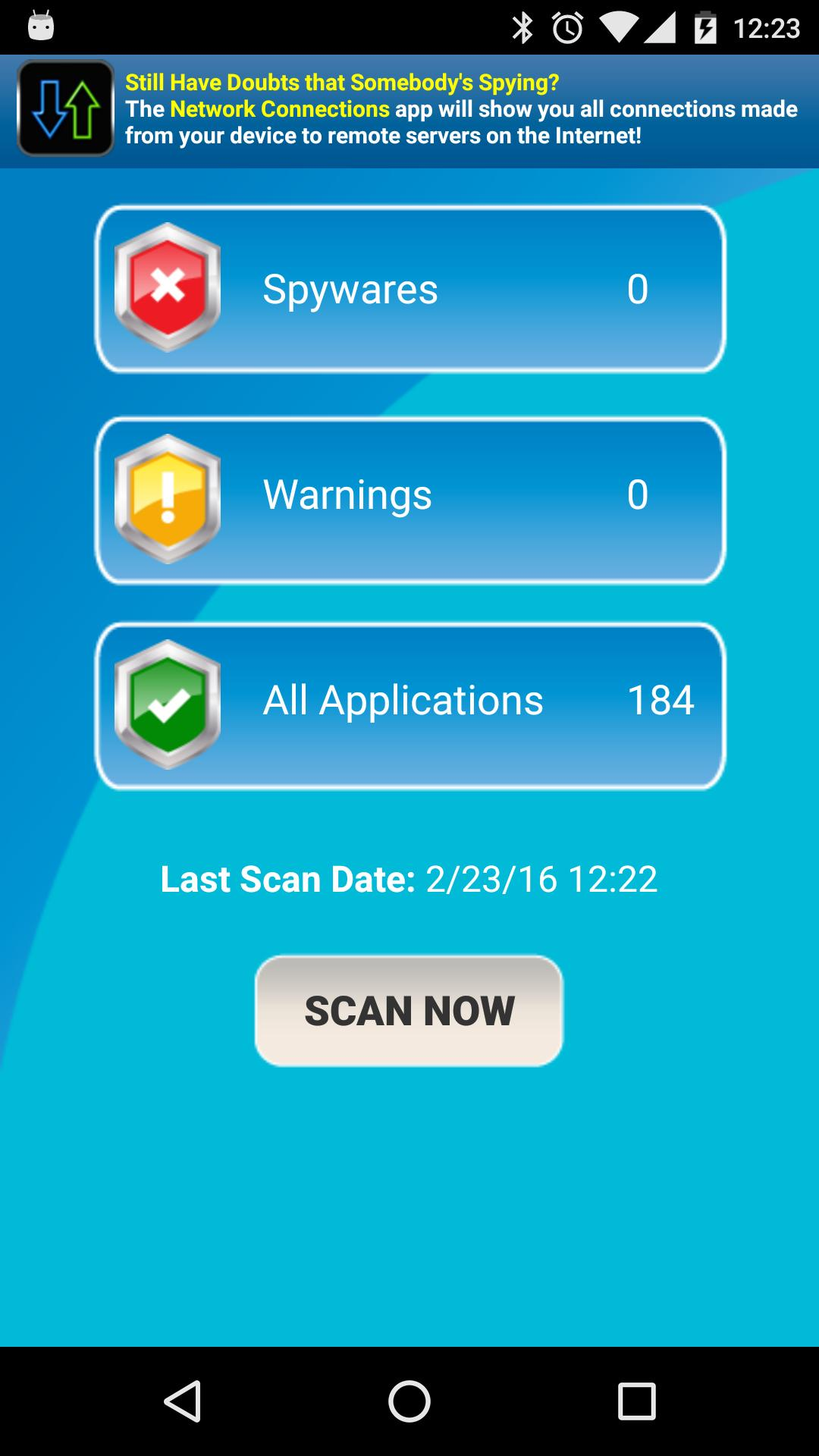 free anti spyware apps for android