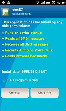 Anti Spy Mobile Free 截圖 4