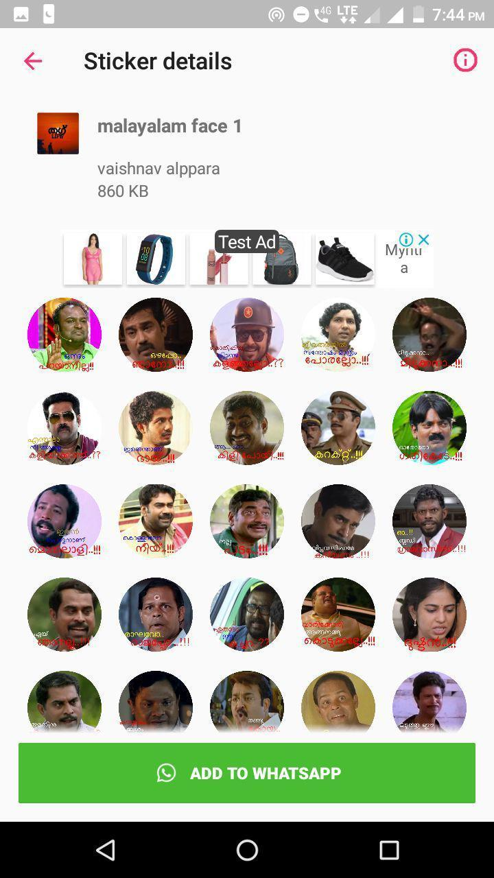 Malayalam Troll Stickers-Whatsapp Stickers for Android - APK Download