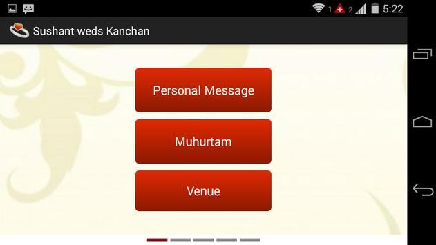 Sushant Weds Kanchan capture d'écran 7
