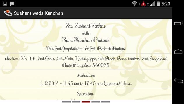 Sushant Weds Kanchan capture d'écran 5