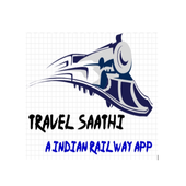 TravelSaathi-A Indian Railway App icon