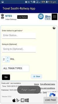 TravelSaathi-A Indian Railway App screenshot 6