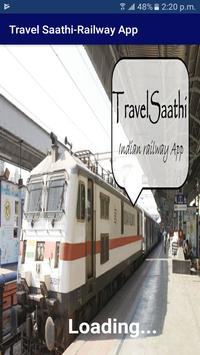 TravelSaathi-A Indian Railway App poster