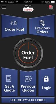 Order Propane screenshot 1