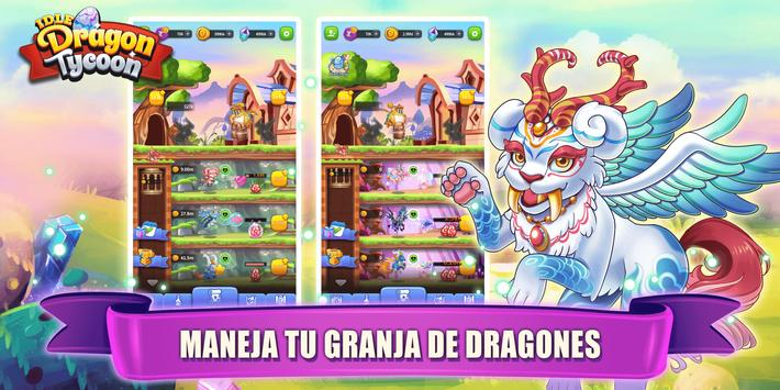 Idle Dragon Tycoon captura de pantalla 8