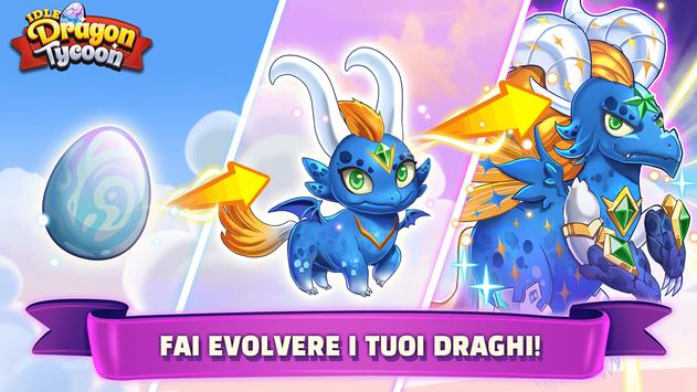Poster Idle Dragon Tycoon