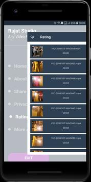 Any Video Player screenshot 1