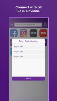 Web video cast for roku device for Android - APK Download