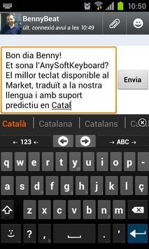 Catalan for AnySoftKeyboard الملصق