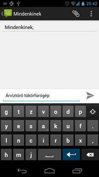 Magyar AnySoftKeyboard Ekran Görüntüsü 6