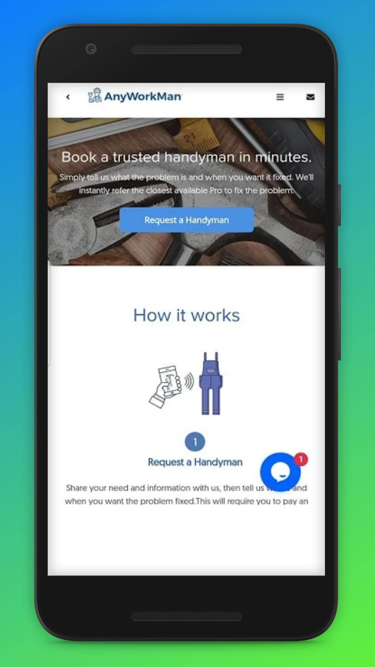 Anyworkman Handyman App for Android - APK Download