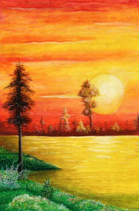 Easy Scenery Drawing Ideas For Android Apk Download Easy sunset scenery drawing   how to draw beautiful sunset in the village with oil pastels how to draw easy sunset scenery. easy scenery drawing ideas for android